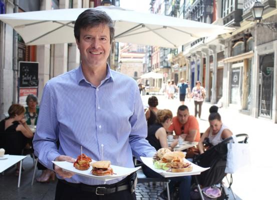 Boni García, propietario del Café Lago